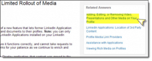 LinkedIn Limited Rollout Media