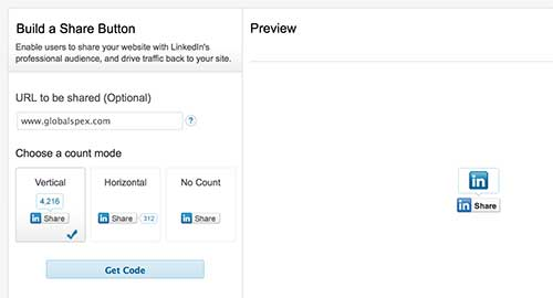 LinkedIn Link Setup