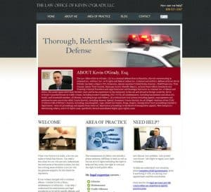Defense Attorney Website Design