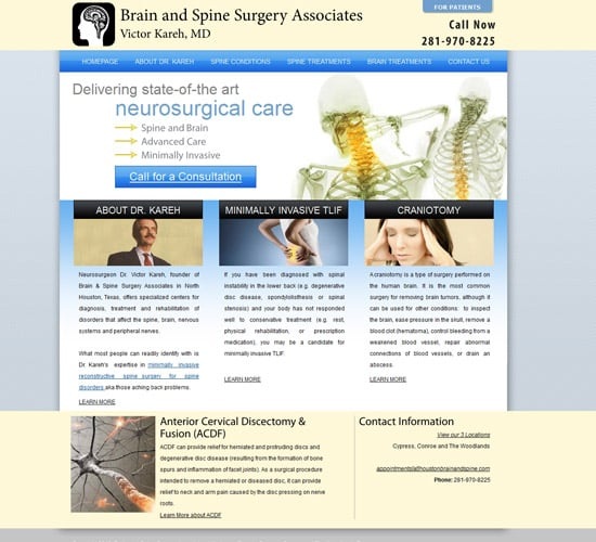 Custom Design Houston Brain Surgery