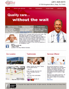 medical and doctor website design