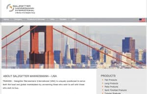 Website Design for Manufacturer