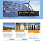 energy website design