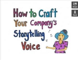 website storytelling