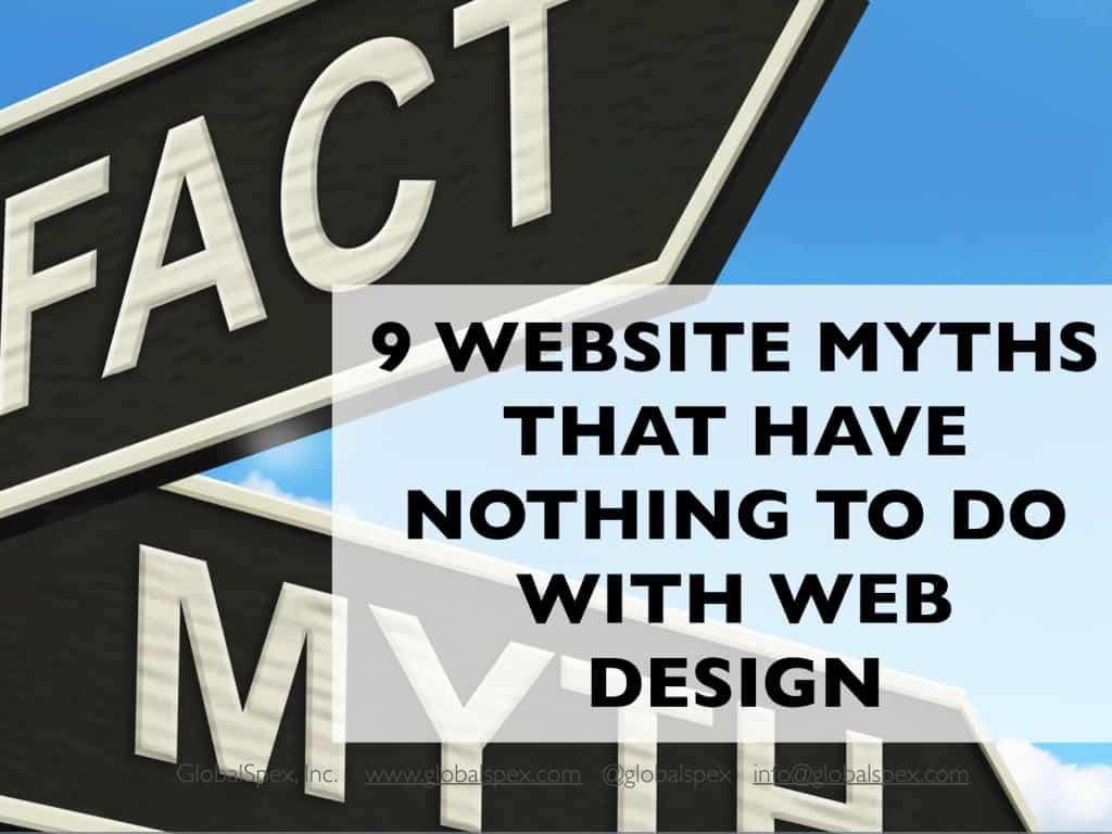 9 Web Design Myths