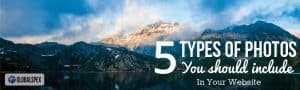5 Types Photos For Your Website Design