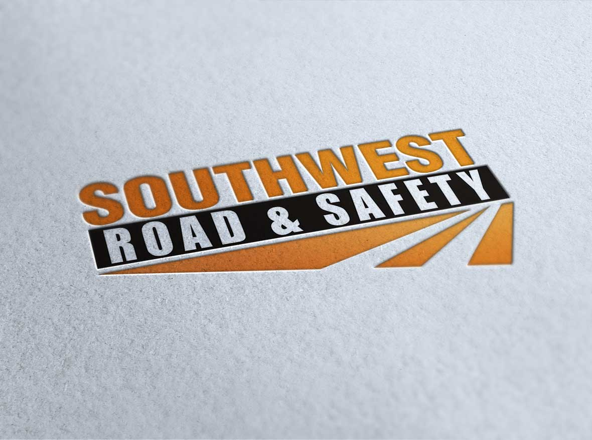 road and safety logo