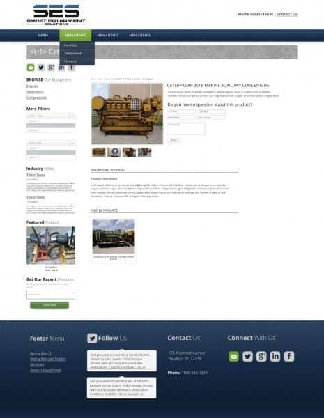 engine product database