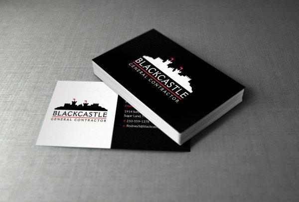 houston business card design