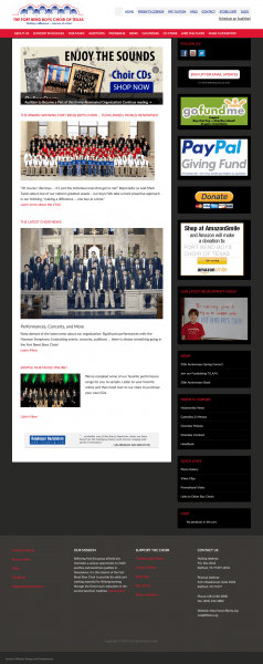 eCommerce NonProfit Website Design