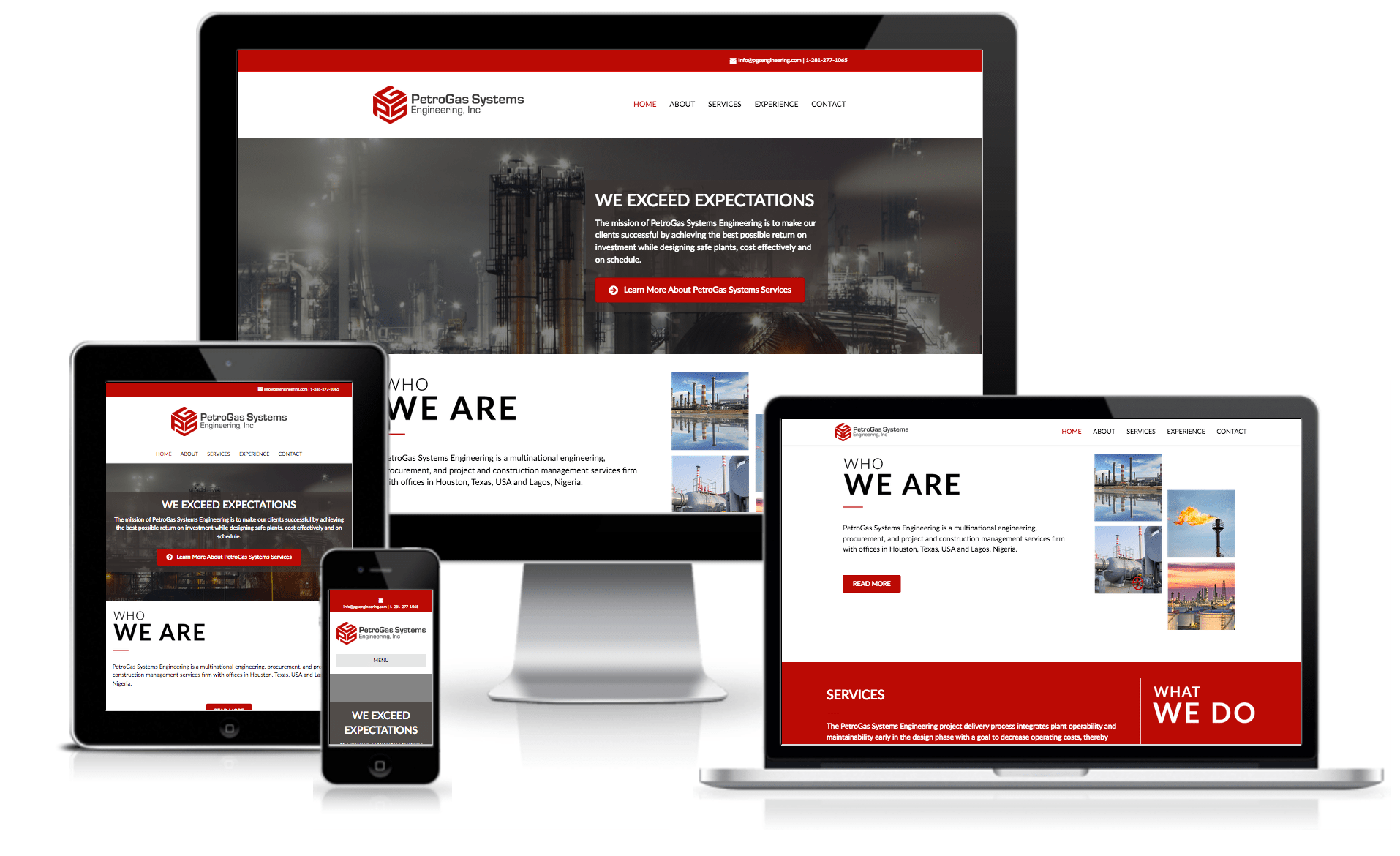 houston wordpress web designer