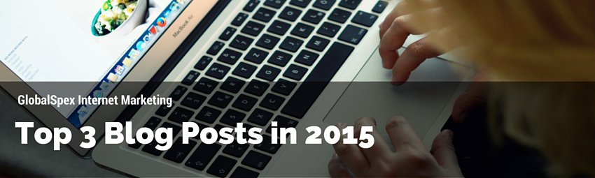 Top 3 Blog Posts in 2015