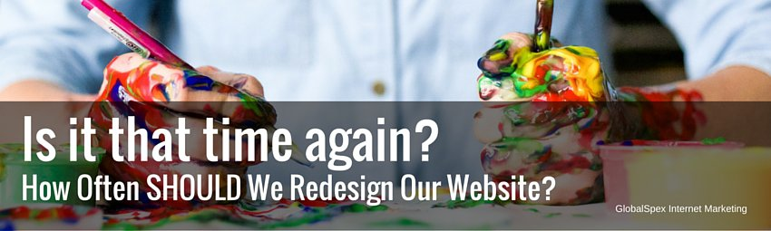 When Should You Redesign Website?