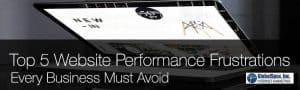 Top 5 Website Performance Frustrations