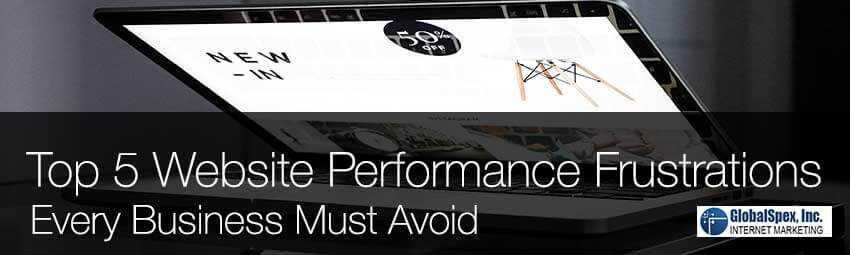 Top 5 Website Performance Frustrations