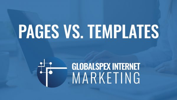 WordPress Pages vs Templates