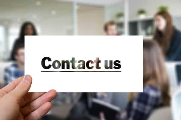 Contact Us Page - Be A Resource