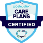 Website Care Plan certification