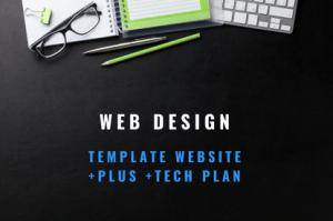 web design template website plus