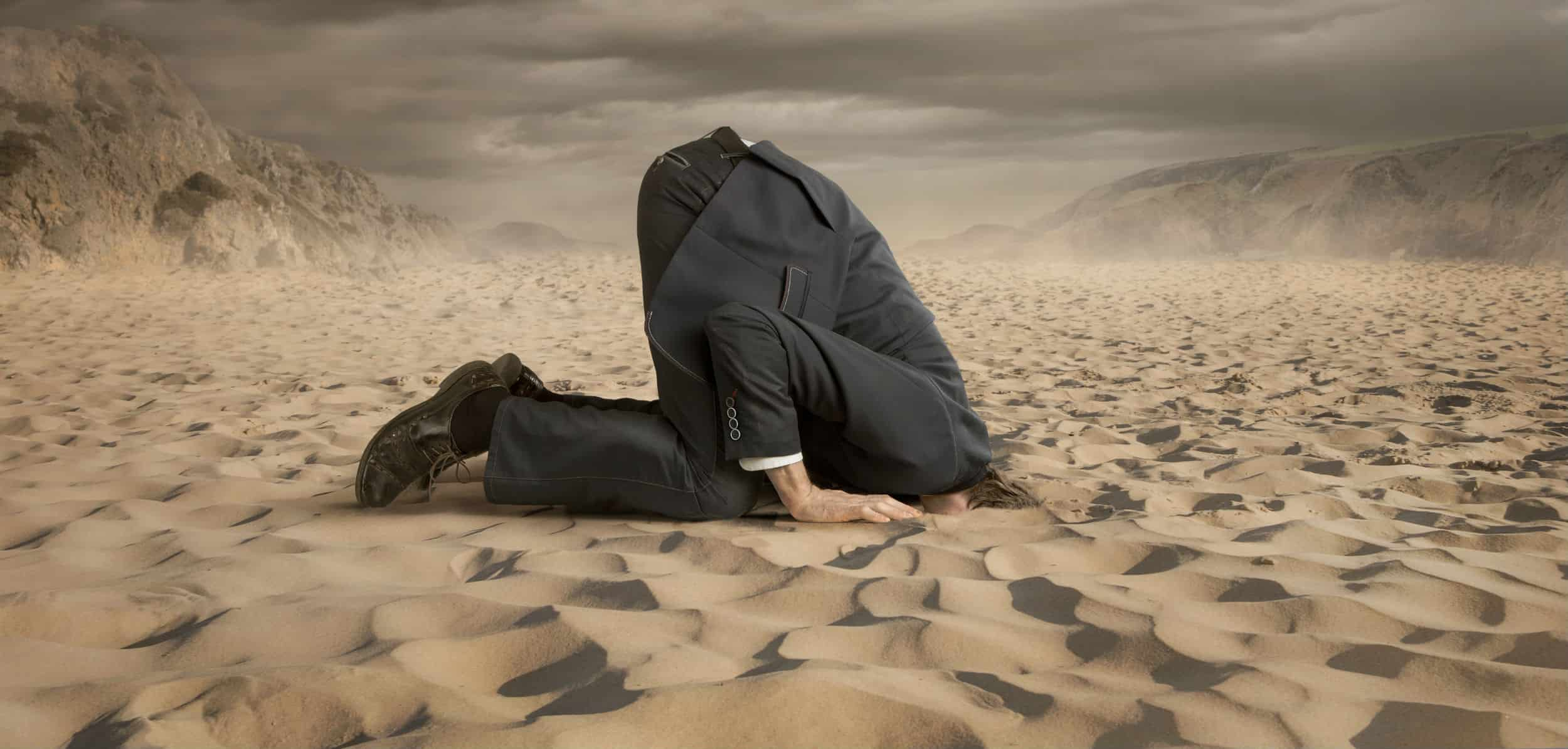 health care can't bury their head in the sand