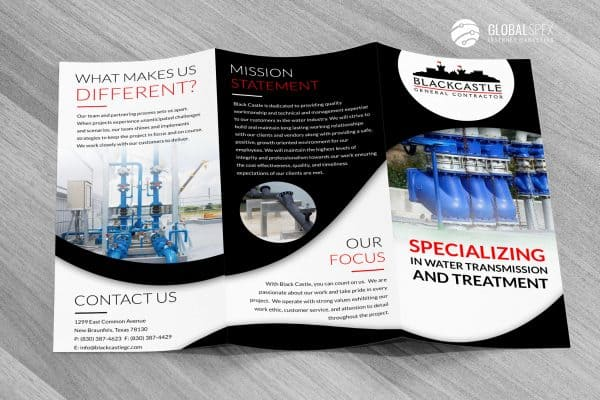 brochure construction houston