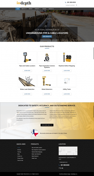 houston b2b website design