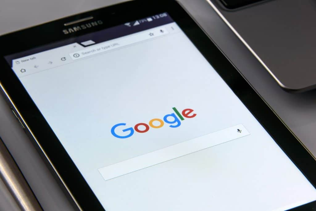 google search on smartphone