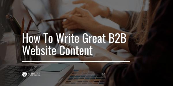 How Write Website Content