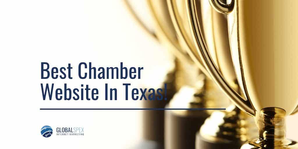 Fort Bend Chamber Award Winning Website