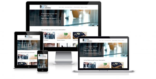 business service website design