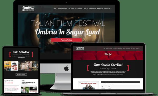 wordpress website design responsive