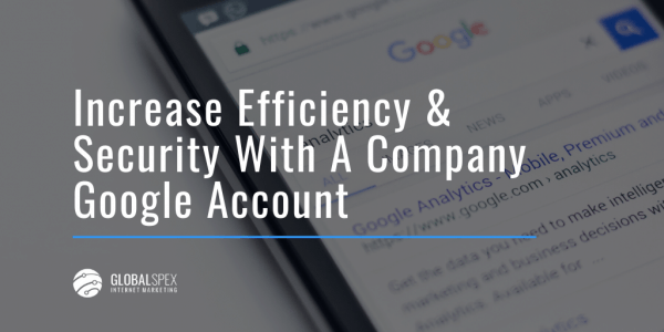 creating a google corporate account