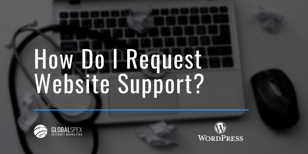 How to request website support