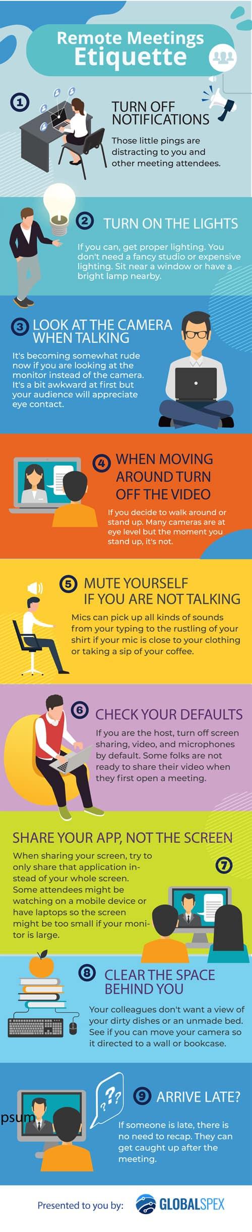Zoom Remote Meeting Etiquette
