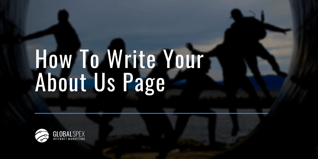 how to write your about us page on your website