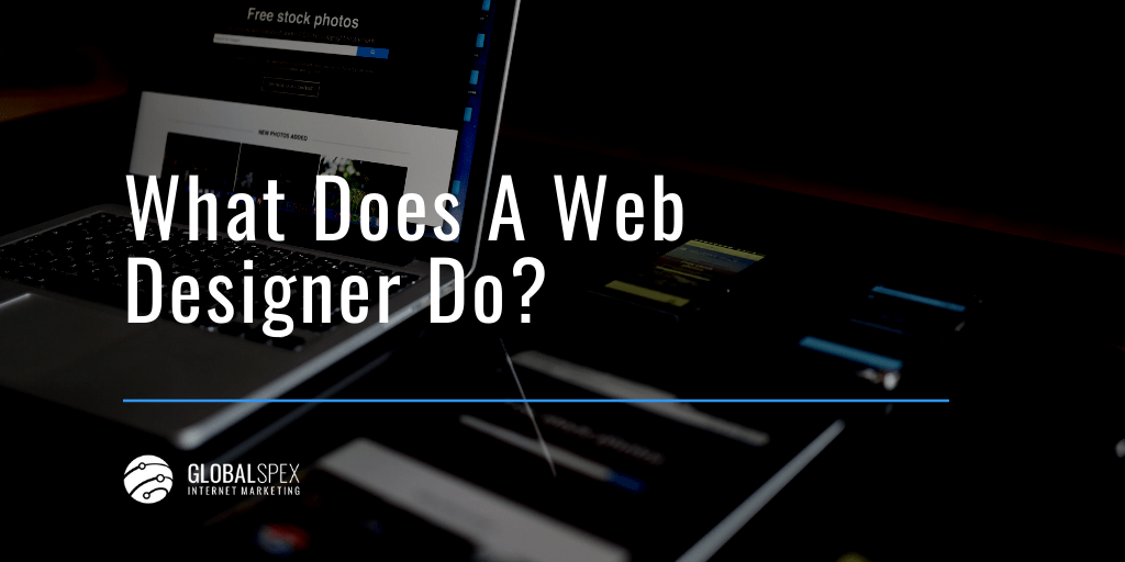 What does a web designer do