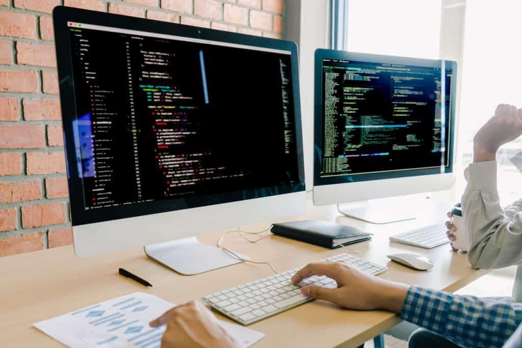 Web designers versus web developers at work