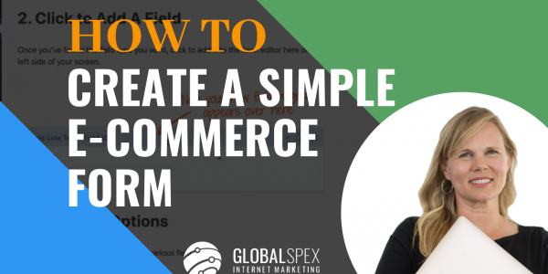 How To Create Ecommerce Form