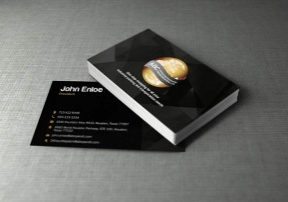 transportation business card
