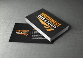 contractor and construction business cards