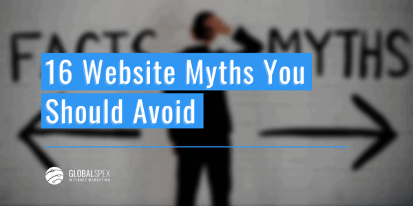 web design myths