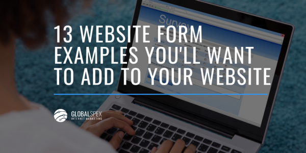 website form examples to add to your website